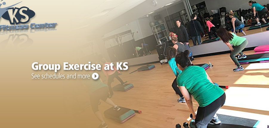 Group Exercise at KS! See schedules and more