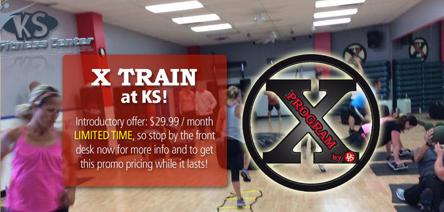 Cross Train arrives at KS! Stop by the front desk for more info